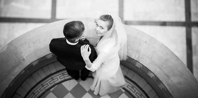 Najciekawsze zdjęcia ślubne B & W